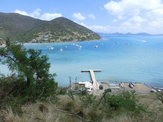 Great Harbour von oben